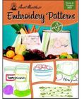 **NEW** Aunt Martha's Fruits & Veggies Embroidery Transfer Book