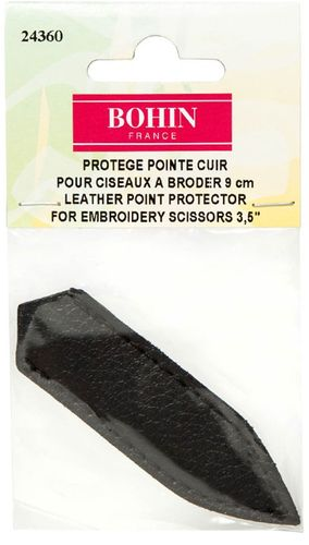 **NEW** Bohin Leather Embroidery Scissor Point Protector