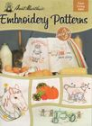 Aunt Martha's Farm Living Embroidery Pattern Book