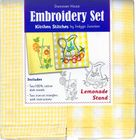 "Dunroven House ""Lemonade Stand"" Embroidery Kit"