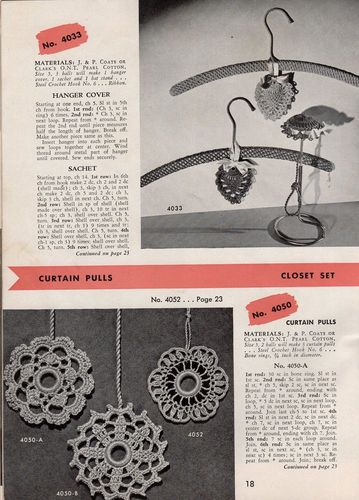 Vintage Clark's Crochet & Knitted Gifts #266