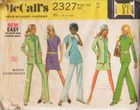 McCall's 2327 Blouse, Pants & Jacket, Bust 34""