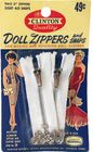 Vintage Clinton Doll Zippers & Snaps