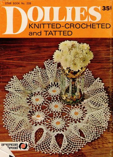 Star Book No.228 Doilies Knitted-Crocheted & Tatted