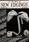 Vintage A Bookful of New Edgings Book #109 for Crochet & Knitting