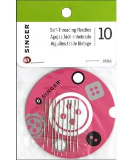 **NEW** Singer Self-Threading Hand Needles w/Magnetic Holder