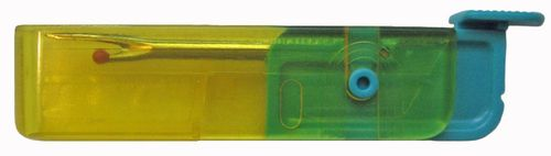 *BACK IN STOCK* Bohin Folding Seam Ripper Yellow/Turquoise