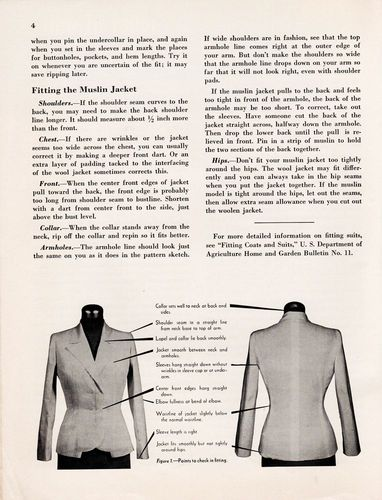 Vintage How To Tailor a Woman's suit