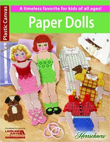 **NEW** Herrschners Cross Stitch Paper Dolls for Plastic Canvas