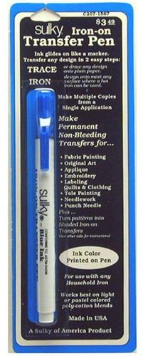 Sulky Blue Iron-On Transfer Pen
