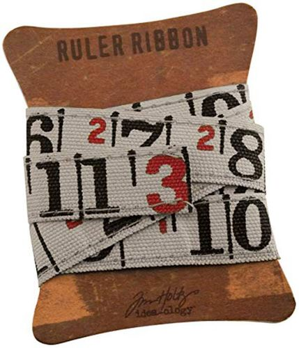 Tim Holtz Ruler Ribbon