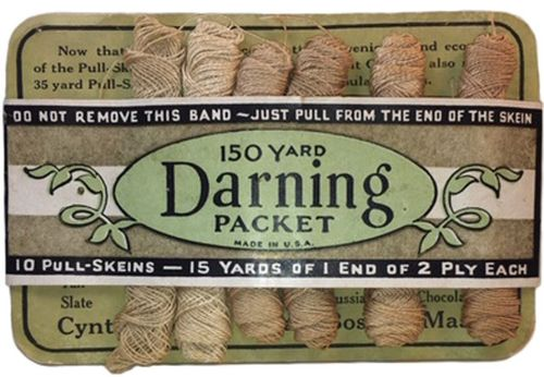 Vintage Cynthia Mills Darning Silk Packet