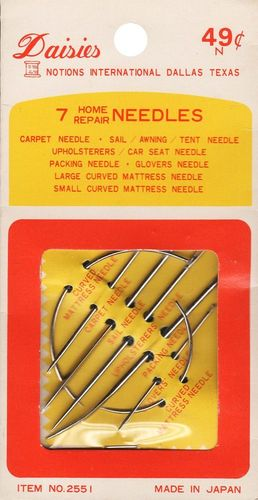 Vintage Daisies Home Repair Needle Kit