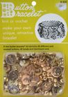 Vintage Goldtone Button Bracelet Kit