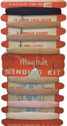 Vintage Mayfair Mending Kit for Stockings