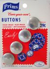 Vintage Prims Cover Your Own Buttons 4 Pack