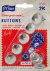 Vintage Prims Cover Your Own Buttons 5 Pack