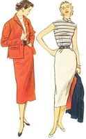 VINTAGE SEWING PATTERNS - Skirts, Pants, Tops, Outfits, Suits, Jackets & Coats