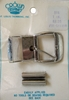 Vintage Silvertone Metal Belt Buckle Kit