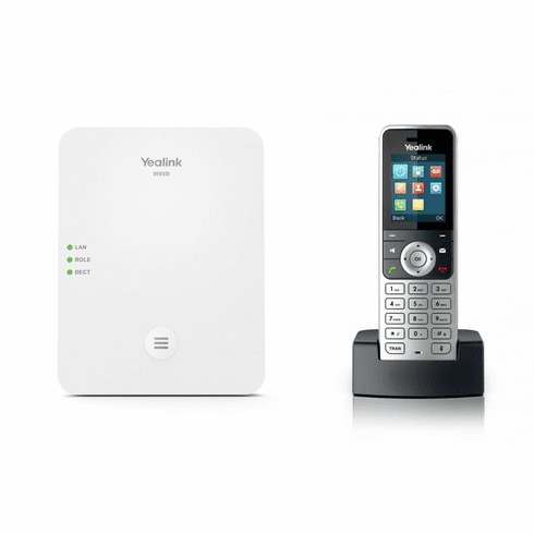 Yealink W83P Bundle - W80B DECT IP Base Station w/ W53H Wireless Phone