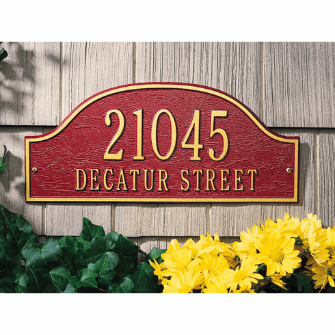 Admiral - Standard Wall Address Marker