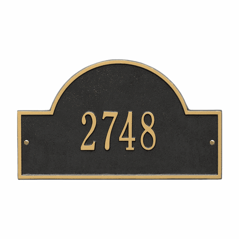 Architectural Marker Standard Wall Number Sign