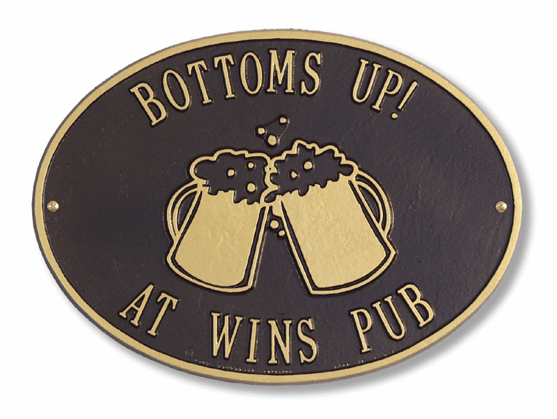 Beer Mugs Plaque