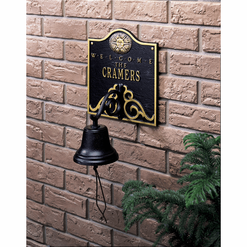 Bell Welcome Address Plaque