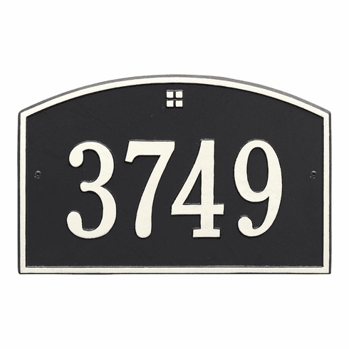 Cape Charles Wall House Number Sign