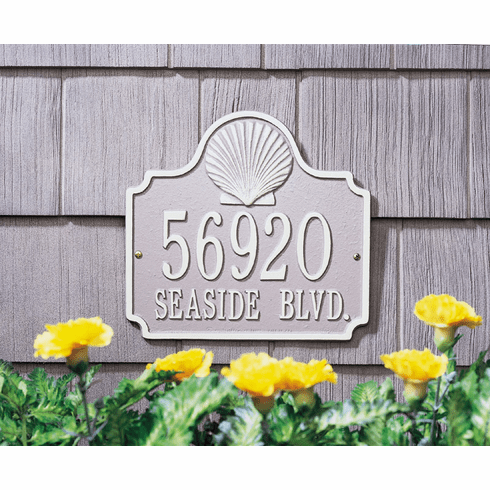 Conch Address Plaque