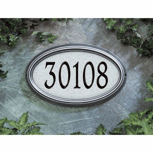Concord Artisan Stone Address Plaque