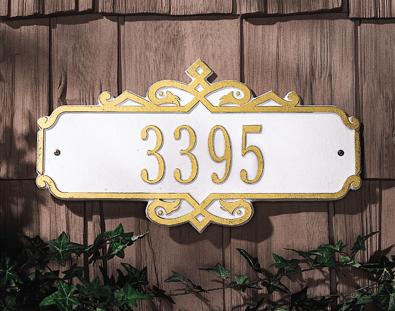 Conventry - Standard Wall Address Marker