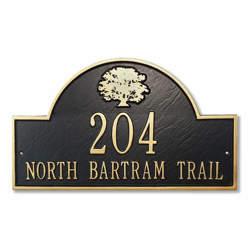 Dawson Arch Address Plaque - DISCONTINUED