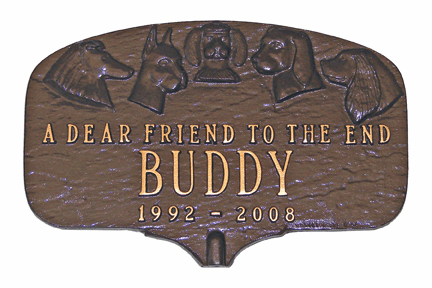Dear Friend Dog Memorial Marker