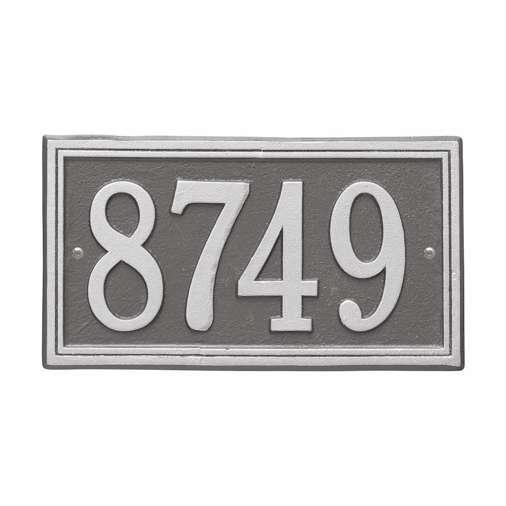 Double Line Standard House Number Sign