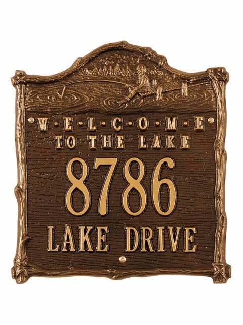 Fisherboy Welcome Plaque