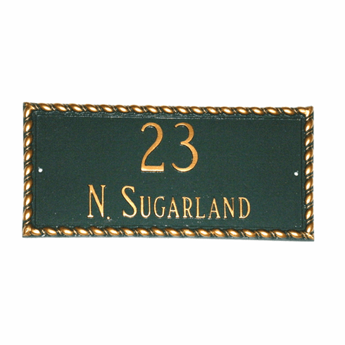 Franklin Decorative Address Plaque