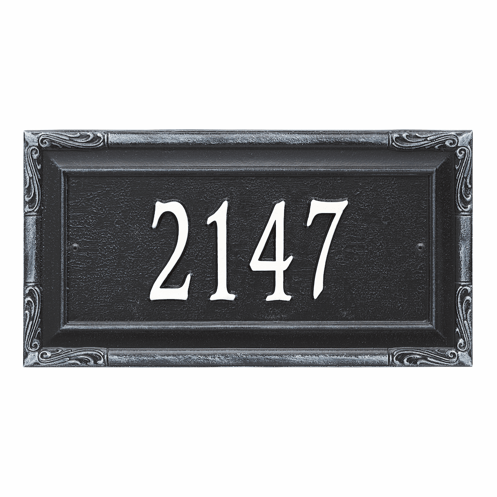 Gardengate Estate House Number Sign