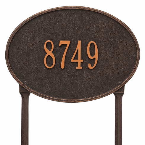Hawthorne Oval Lawn Address Marker