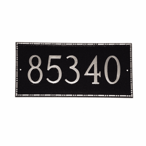 Lincoln Decorative Address Plaque