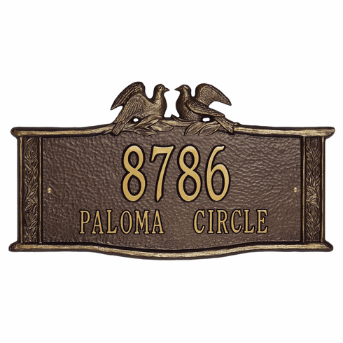 Paloma Standard Wall Address Sign