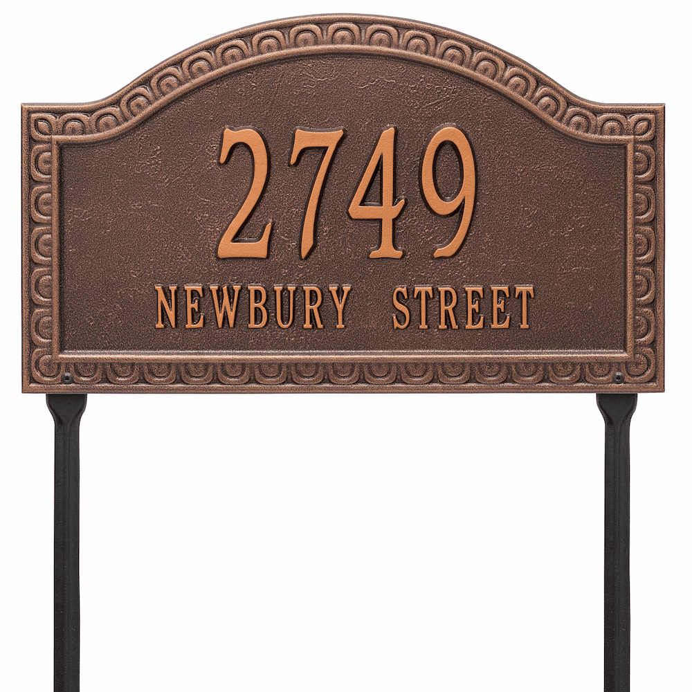 Penhurst Estate Arch Lawn Address Marker