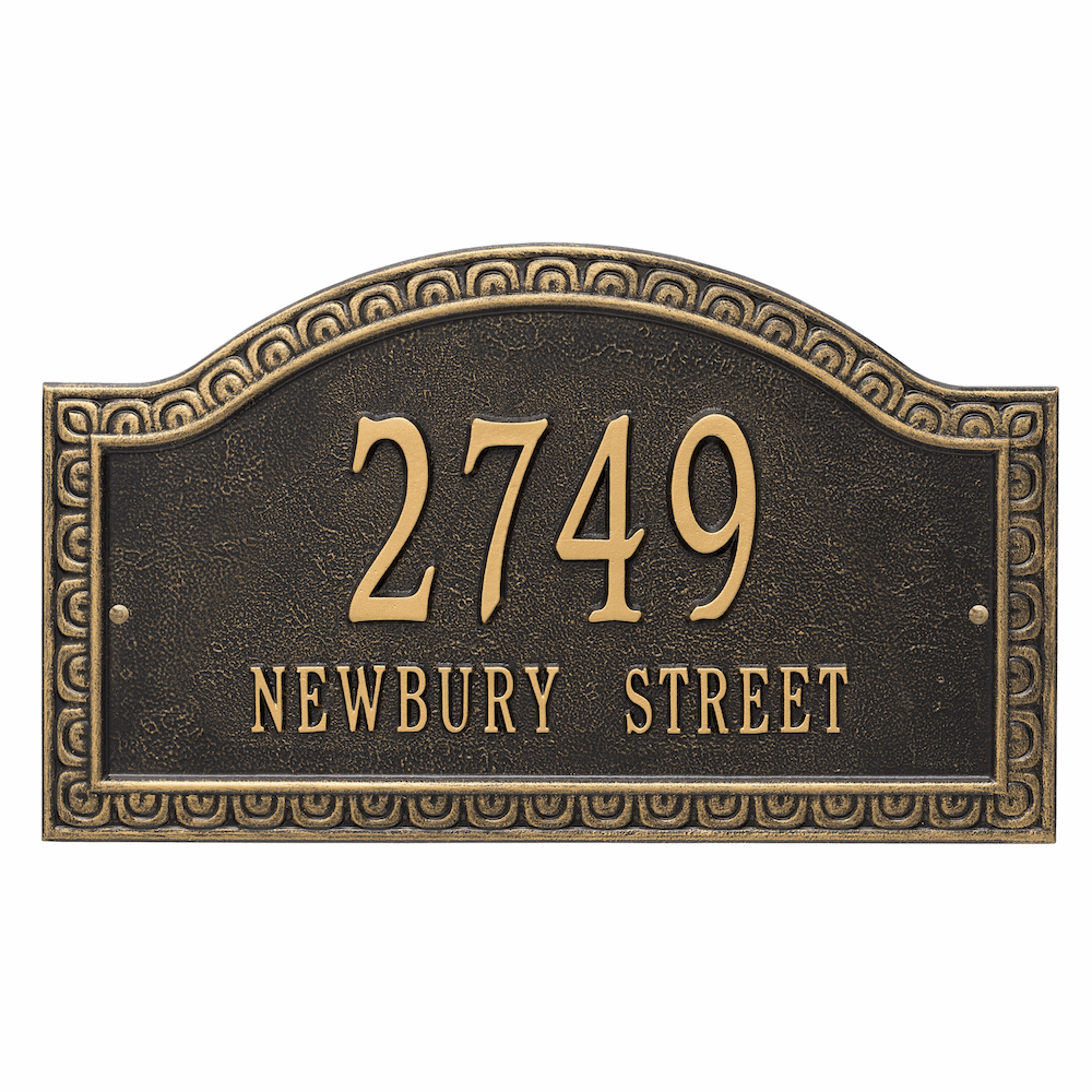 Penhurst Estate Arch Wall Address Sign