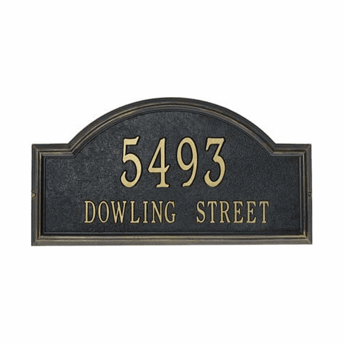 Providence Arch Address Plaque