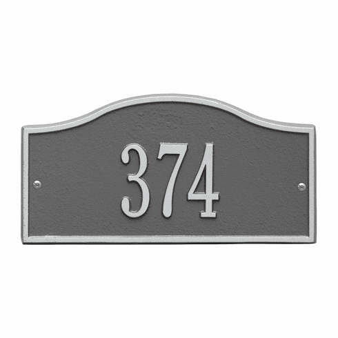 Rolling Hills Mini Wall House Number Plaque