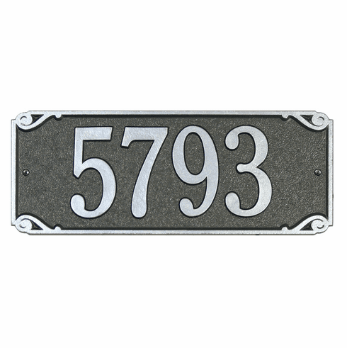 Saint Pierre Standard Wall Address Plaque