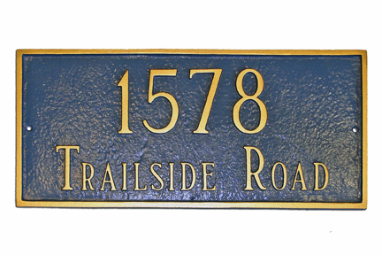 Standard Classic Rectangle Address Marker