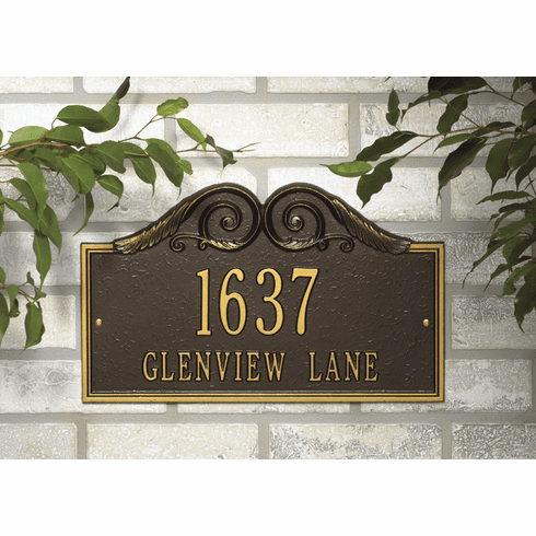 Versailles Wall address marker