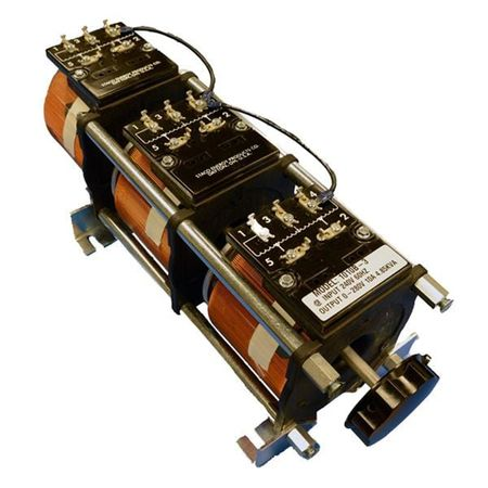 Staco 1010B-3 - Variable Transformer, 3 Phase WYE input, 10Ao, 0-240Vo, 4.16kVA, Open, Panel Mt