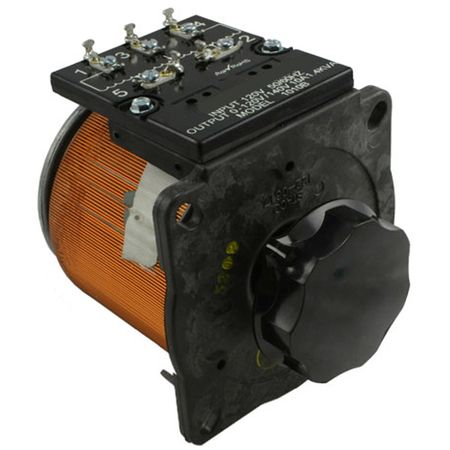 Staco 1010BCT-3 - Variable Transformer, 3 Phase WYE input, 10Ao, 0-240Vo, 4.16kVA, Cased, Bench